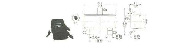 корпуса и маркировка компонентов для поверхностного монтажа smd12